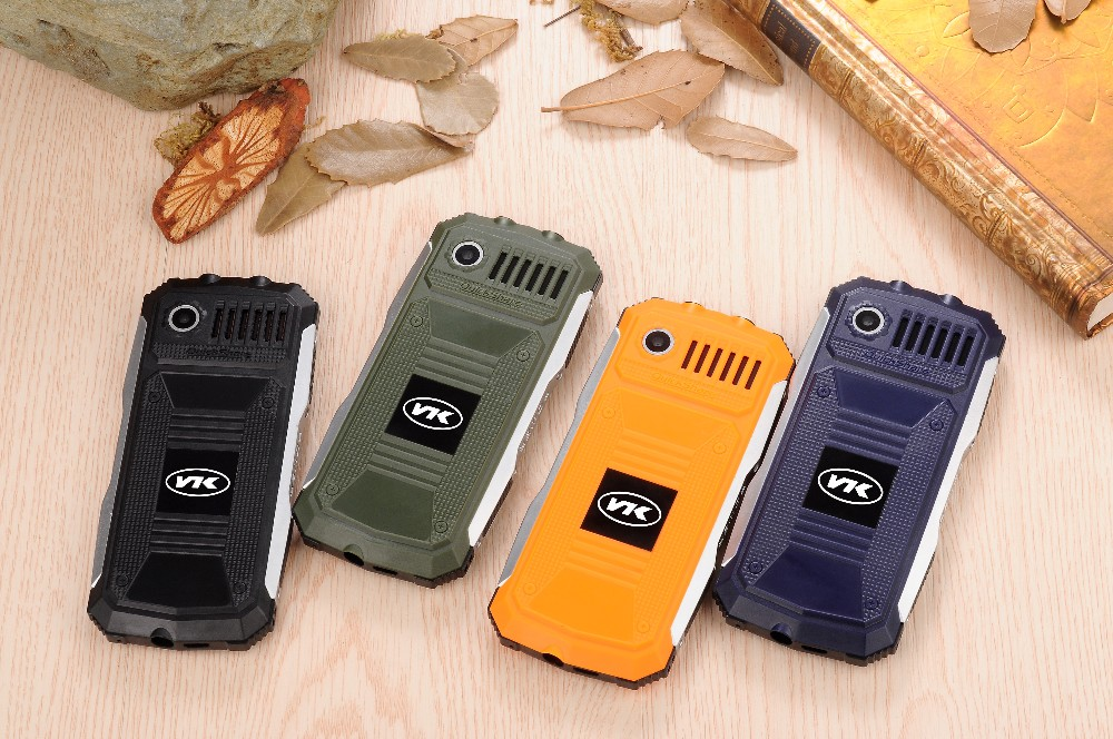 vkworld manufacture vkworld New Stone V3 2.4 inch Camera 2MP Big Sound IP68 Triple SIM New V3 Waterproof Rugged Mobile Phone