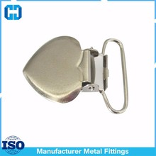 Best Quality Heart Shaped Metal Suspender Adjuster Clips Wholesale