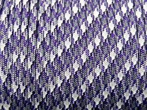 PURPLE CAMO Military Grade 550 Paracord 100 Feet