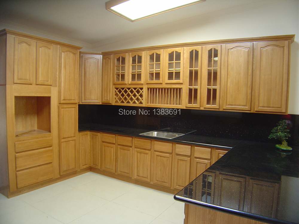Hot Sales Free Design Custom American Solid Wood Kitchen