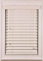 China Home Decor Waterproof Faux Wood Blinds/PVC Slats/Wood Blinds White