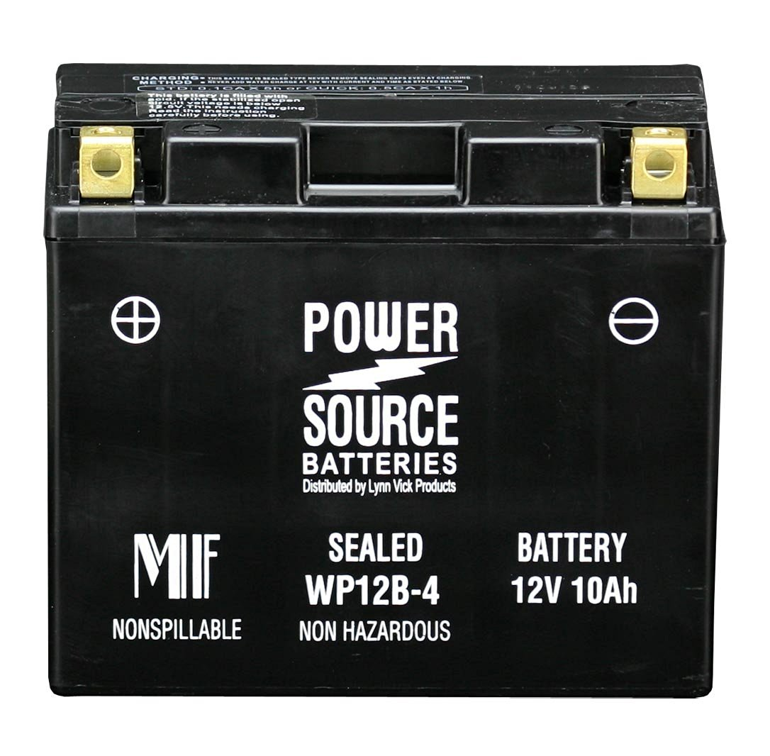 Power Source 01-336 WP12B-4 Battery