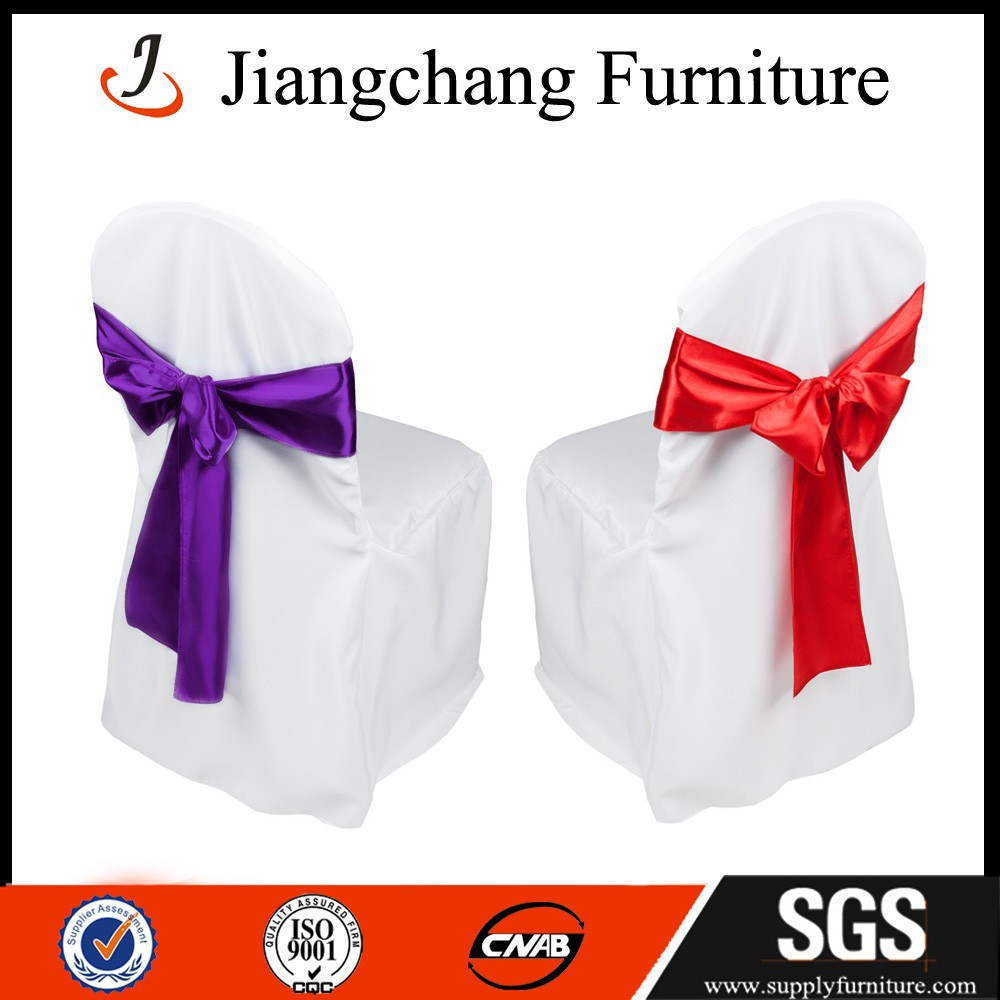polyester universal chair cover white JC-YT198