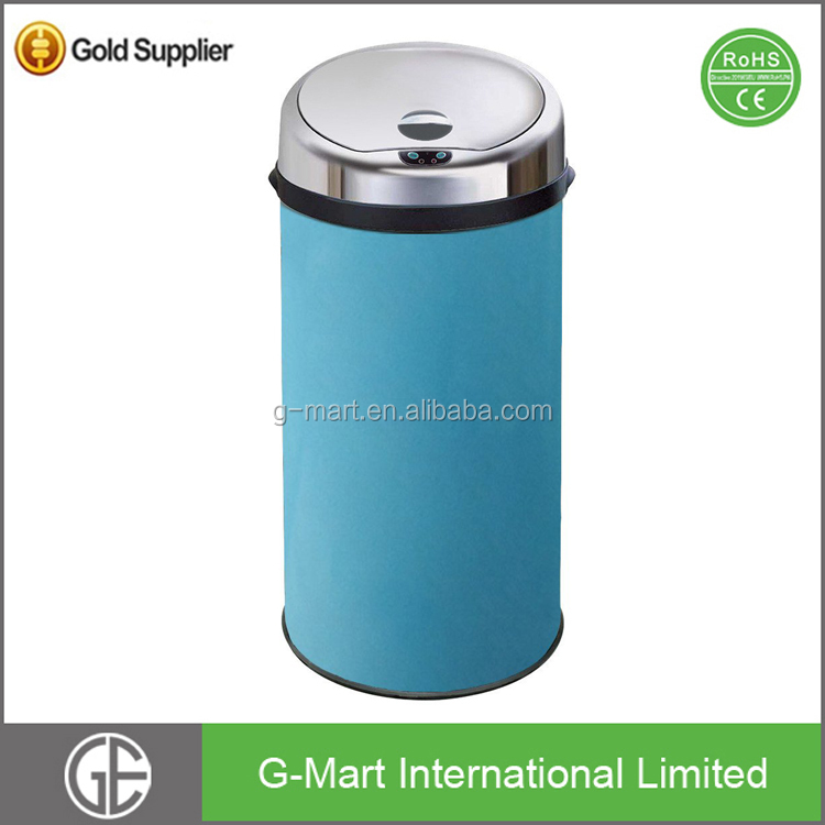Stainless Steel Sensor Touchless Galvanized Waste Bin
