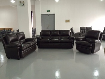 Pretty Price Professional Well Designed Synthetic Leather Sofa