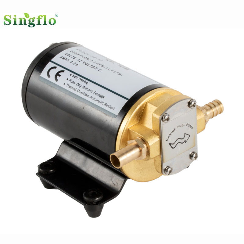 Singflo 12V &24V <strong>DC</strong> 16L/min Proper price high performance high temperature oil pump