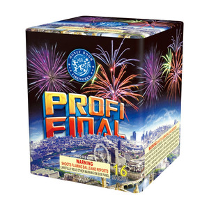 Liuyang happy fireworks 1.4G consumer 1 inch 16 shots Professional Cake Fireworks