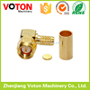 RF connector SMA male R/A RG58 LMR195 gold plated connector