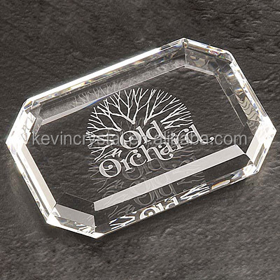 lettes engrave crystal paperweight 3d laser crystal