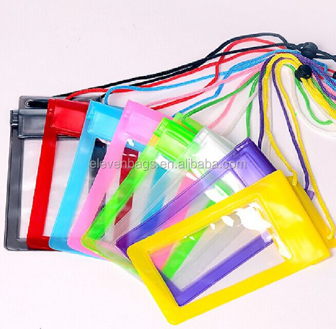 PVC Transparent Mobile Cell Phone Waterproof Bag
