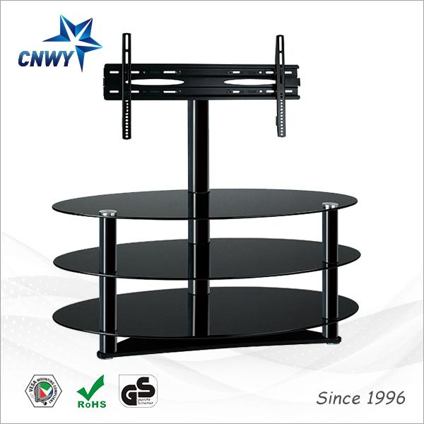 ajustable de cristal moderno diseo de muebles led lcd tv soporte