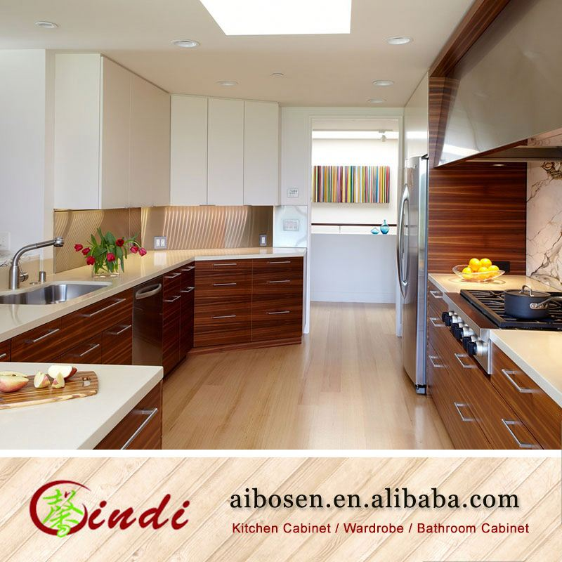 Custom Kitchen Cabinet Prices: Housing Custom Made Timber Veneer Kitchen Cabinets High