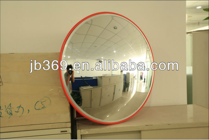 60cm steel safety convex mirror for supermarket inspection