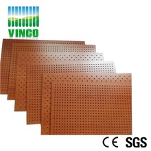 perforated acoustic panel with micro hole acoustic board for ceiling decoration