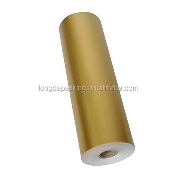Wholesale Solid Gold Jumbo Roll Gift Wrapping Paper,Large Roll Of ...