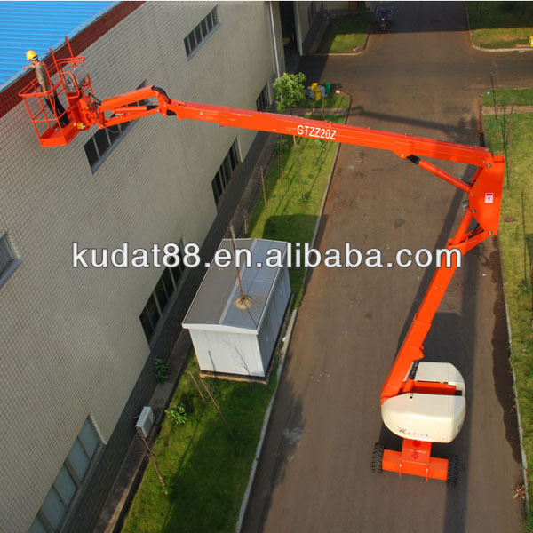 HOT SALE 18m articulated cherry picker GTZZ20Z