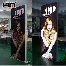 LED advertising display lightbox slim backlit textile light box
