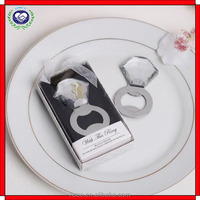 With This Ring Clear Bridal Shower Party Gifts Metal Bottle Openers