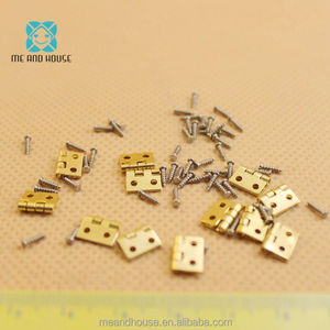 1:12 Doll House Miniature fitment Material metal Hinges and Screws