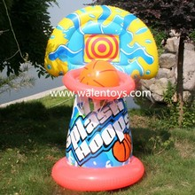 INFLATABLE WATER Basketball Hoop Giant shoot ball Inflatable Fun Swimming Pool Toy