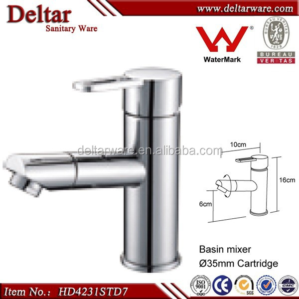 Watermark Sanitary Ware Faucet For Australia, Jiangmen Revolve Mouth Faucet For Bathroom, Faucet Price In China