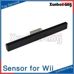 Wireless Sensor Bar for Wii Console Infrared Ray Inductor Black
