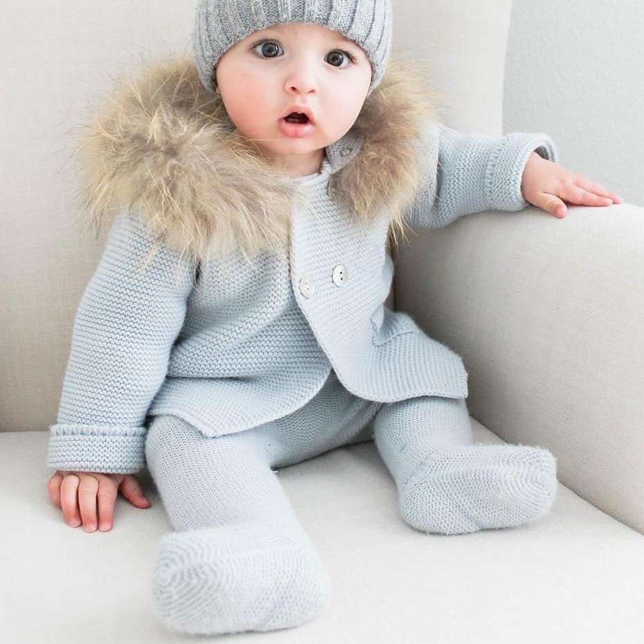 7f54c428d الخريف الشتاء الطفل الملابس الحياكة الفراء معطف أبلى الاطفال-كنزات ...