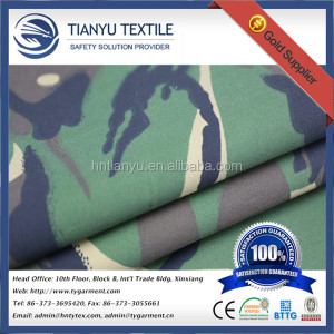 T/C Fabric 65 Polyester 35 Cotton Camouflage Fabric for Uniform Army Cloth