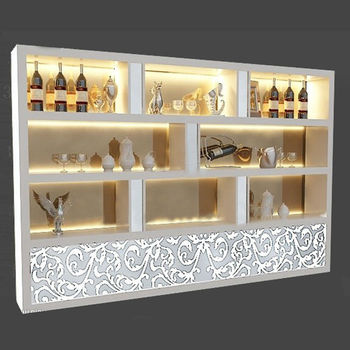 Direct Supply Wine Glass Display Cabinet