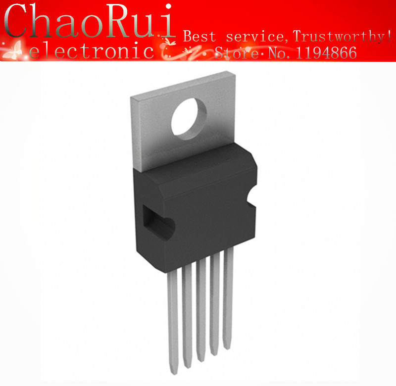 10PCS IC NSC TO-220 LM2575T-5.0 LM2575T-5