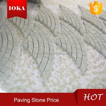 Paving Stone Fan Pattern Paver Stone Price In China