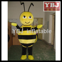 attractive bee mascot costume/bee cartoon mascot costume