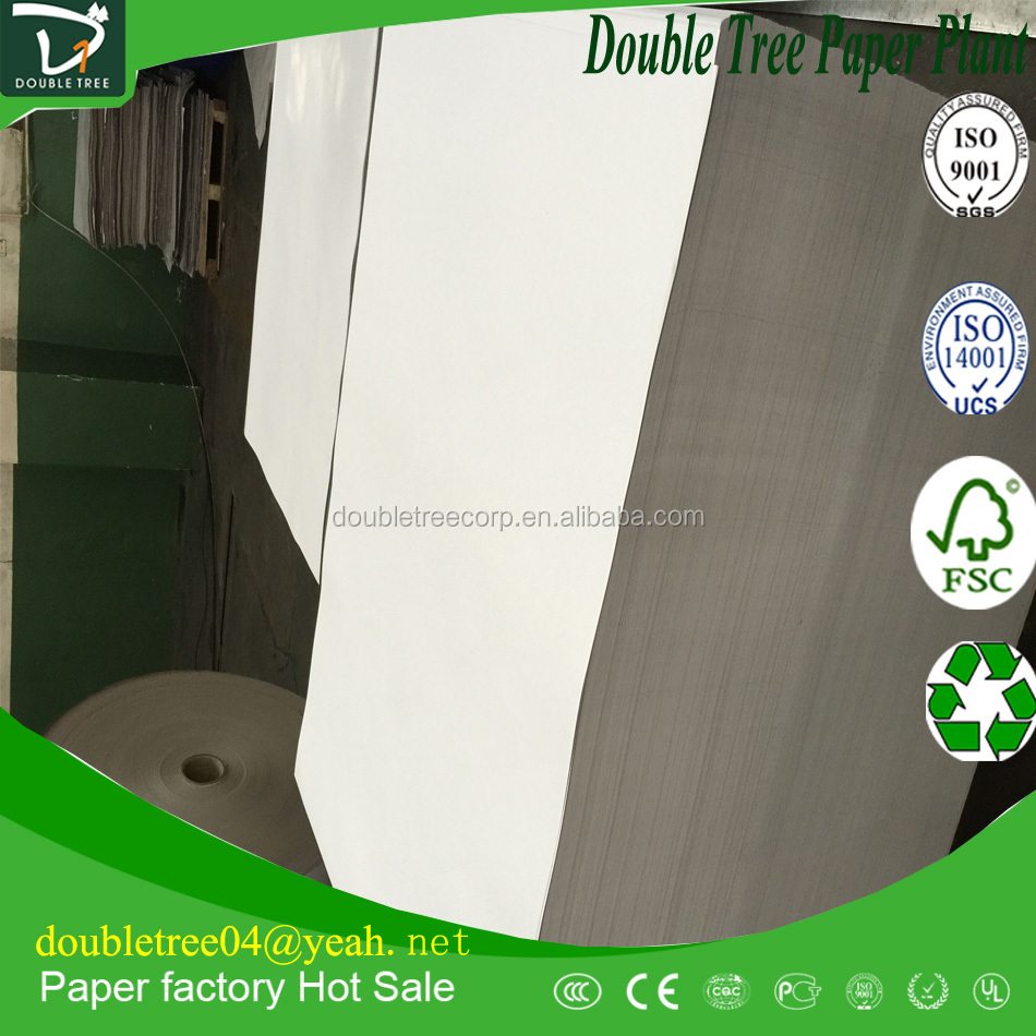 Duplex Board Grey Back/Chip Board with Grey Board Hard Laminated Sheet