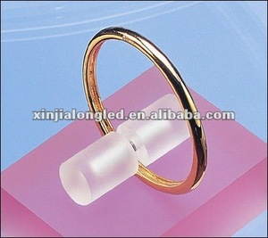 Countertop Acrylic Bracelets Display Holder Stand Acrylic Frosted Round Plexiglass Bangle Holder