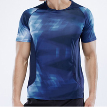 New Fashion Young Boys Sport Clothing Full Body Print Compression T Shirts for Men