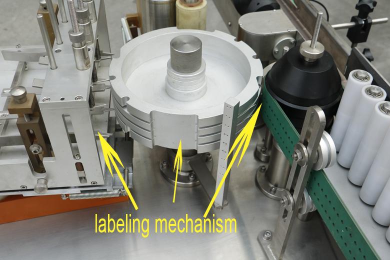 XT-80 natte lijm etikettering machine voor flessen