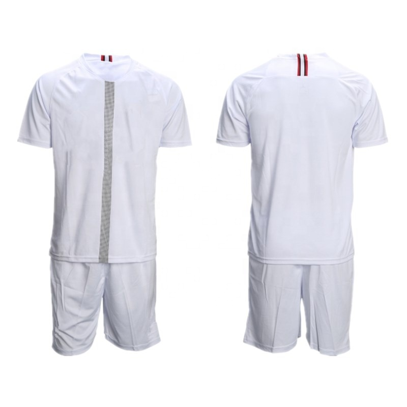 In Stock 2019 Soccer Team Uniforms Wholesale Football Jersey, Any color is available