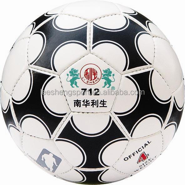 712 PU leather Rubber bladder soccer ball
