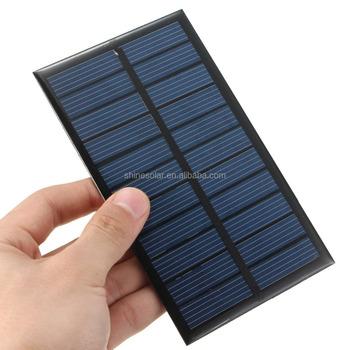 Camping Kit Mini Solar Panel Toys Solar Mobile Phone