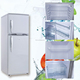 350L DC 12V/24V solar powered fridge refrigerator and freezer
