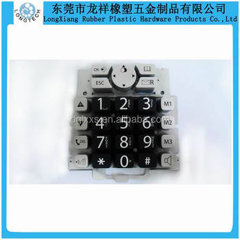 Conductive Silicone Rubber Buttons Telephone Keypad Making - Buy Silicone  Rubber Keypad,Silicone Rubber Buttons Keypad,Silicone Rubber Keypad Making