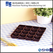 Factory direct sell PVC plastic cookie packaging tray disposable plastic tray for cookies