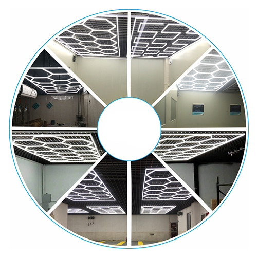 ZT1028 anti-glare ceiling light auto car wash equipment  LED light car care cleaning for car workshop equipment