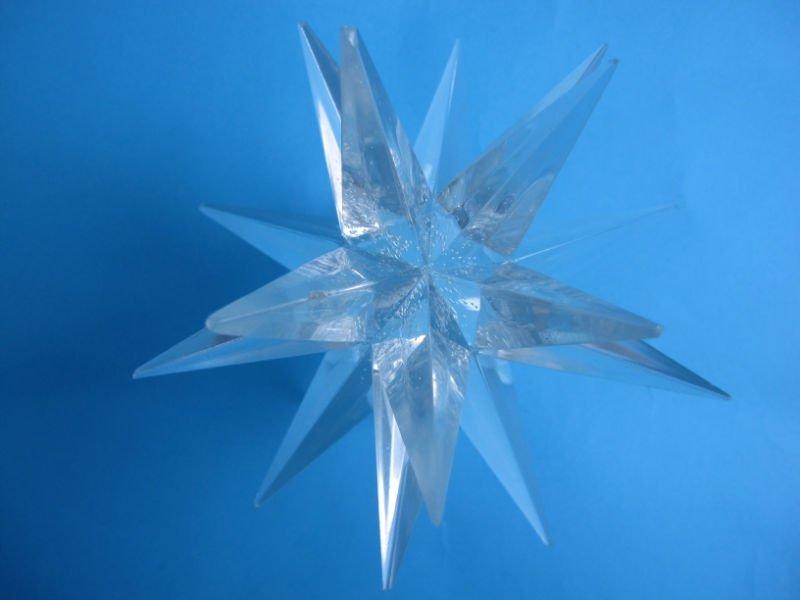 Moravian Christmas Star Lighting