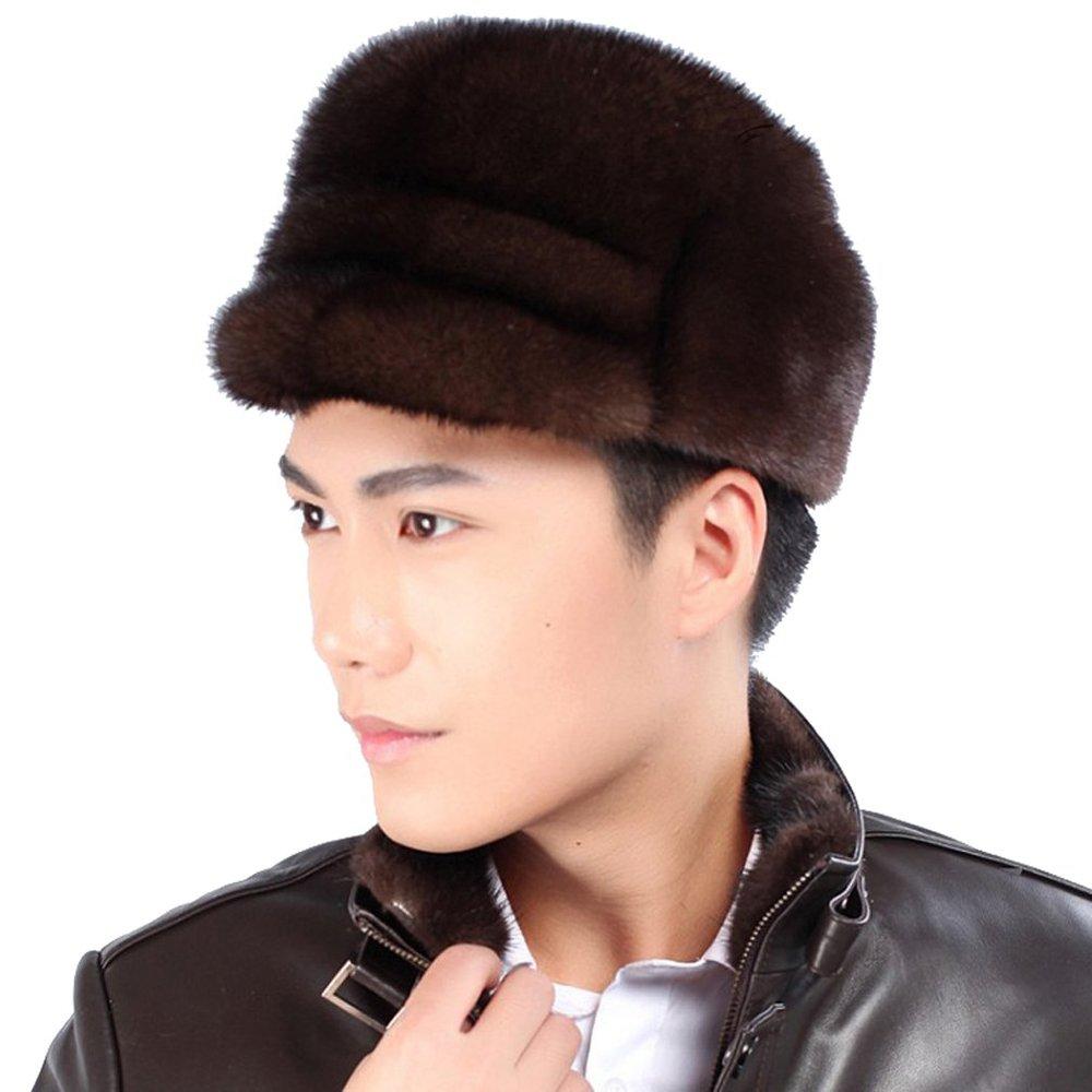 14a0805eb5cda Get Quotations · Mink Fur Captain Hat -