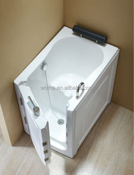 Portable Walk In Bathtub For Disabled 1person Hot Tub Walk In Tub ...