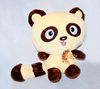 Big eyed plush toy panda wholesale
