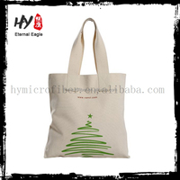 Hot sales promotional casual style canvas tote shopping bag