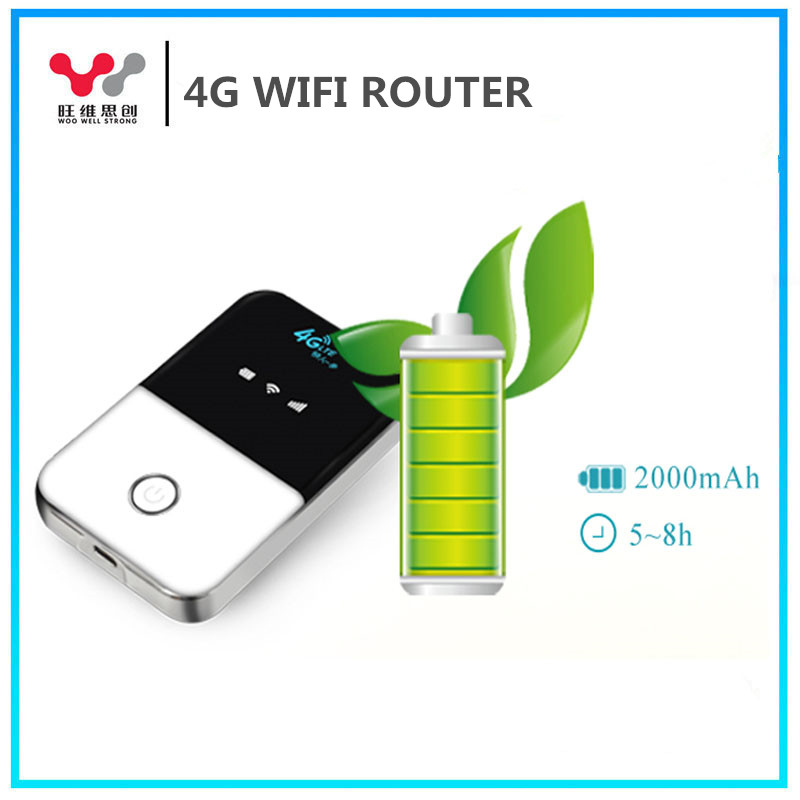 Good Quality Unlocked Outdoor WiFi Hotspot SIM Card 4G router