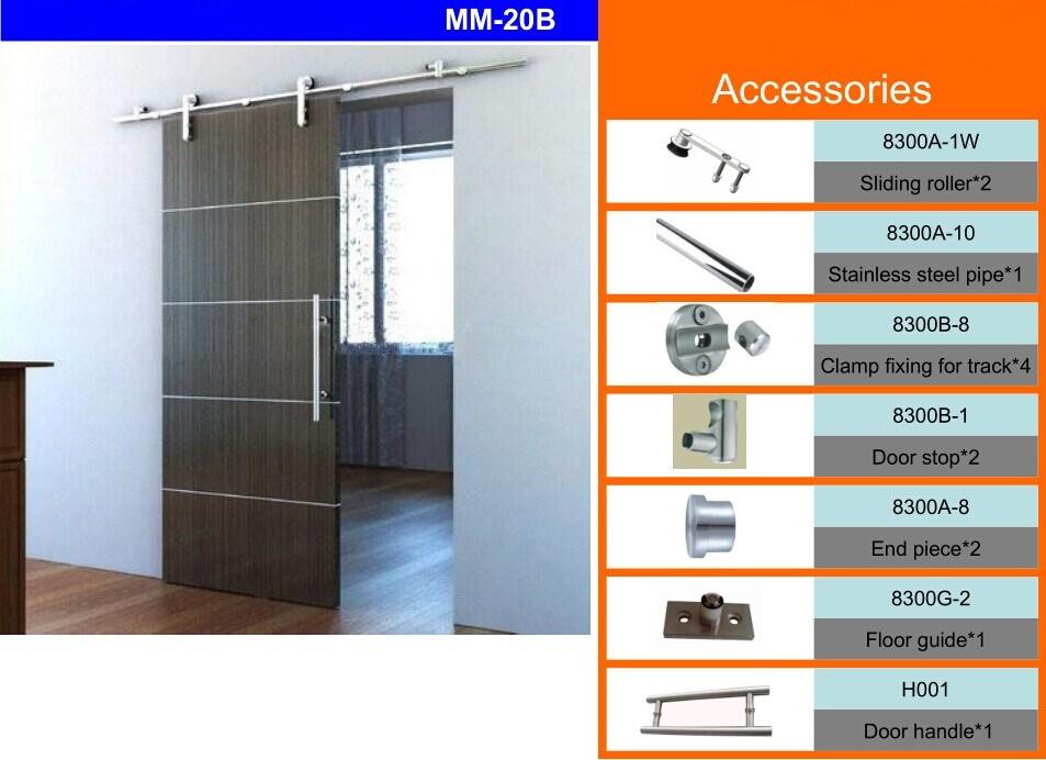 Domo moderne ontwerp kamer deur partitie schuifdeuren schuur deur schuurdeur hardware mm 20b - Partition kamer ...